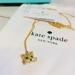 Kate Spade Fox Necklace